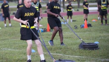 Army rolls out alternative fitness test, but scores will still not count