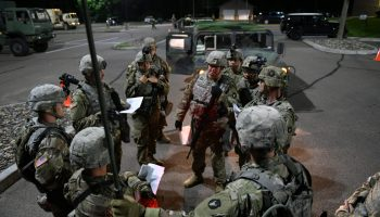 Thousands of National Guard troops are deployed all over the country