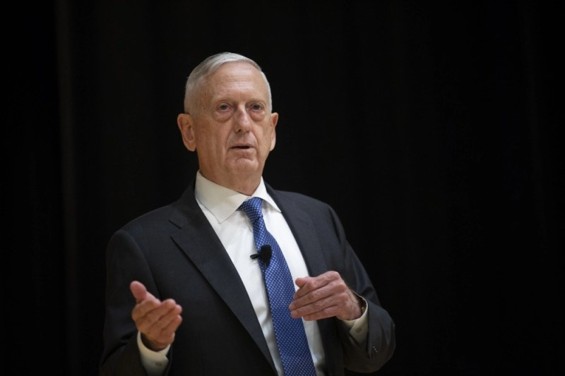 Retired General James Mattis. (U.S. Marine Corps photo by Lance Cpl. Piper A. Ballantine)
