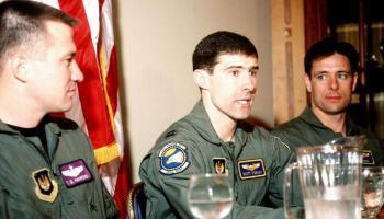 25 years ago, F-16 pilot Scott O'Grady was rescued in Bosnia