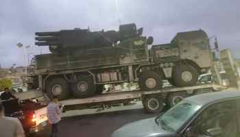 Libyan forces capture Russian Pantsir-S-1 anti-aircraft system