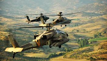 Israeli Apaches strike Hezbollah targets within Syria