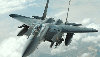 What caused an US Air Force F-15 to buzz an Iranian airliner?