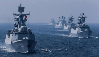 China's 770-ship naval force & a potential war in the Pacific