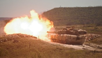 M1A2 Abrams tanks involved in friendly fire incident