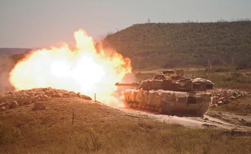 M1A2 Abrams Tank (Wikipedia)