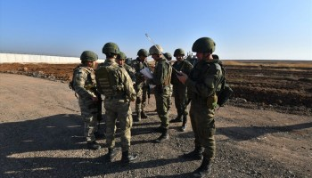 Russia halts joint patrols with Turkish military in Syria