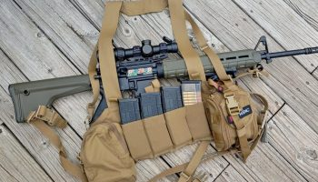 The Blue Force Gear Ten Speed M4 Chest Rig