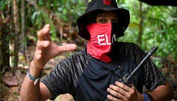 "Colombian Security Forces Kill Top ELN Commander ""Uriel"""
