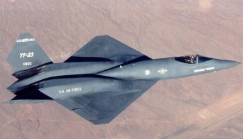 Could the YF-23 Have Been Better Than the F-22?
