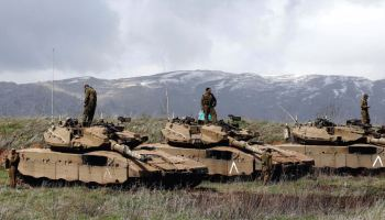 Different Groups Fight Each Other in the Golan Heights