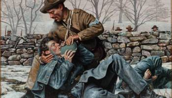 """Battle of Fredericksburg and """"The Angel of Marye's Heights"""""""
