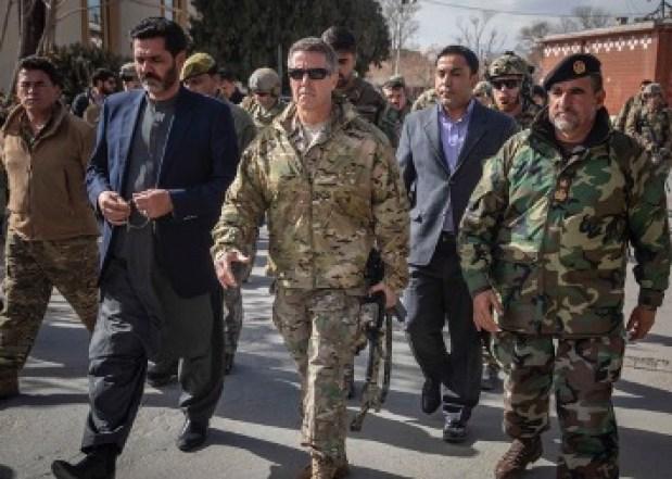 General Miller in Afghanistan