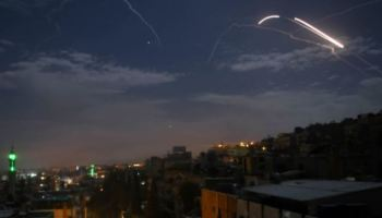 Israeli Jets Overfly Lebanon, Strike Iranian Positions in Syria