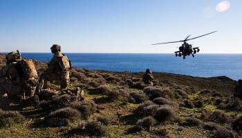 The Army's 101st Airborne Train Up With Greek Special Operators