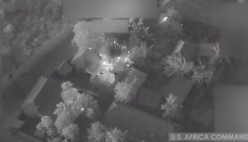 Watch: US Airstrikes Target al-Shabaab Terror Group in Somalia