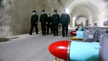 Iran's IRGC Shows New Underground Missile Base Near the Persian Gulf
