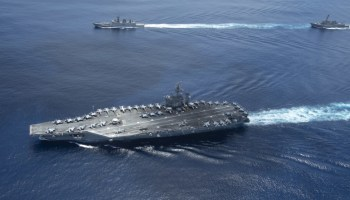 Nimitz Carrier Group Ordered Back to the Middle East