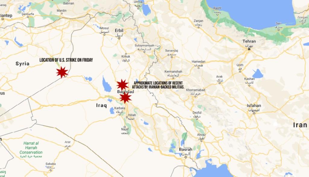 Iran attacks, Syria, Iraq, SOFREP