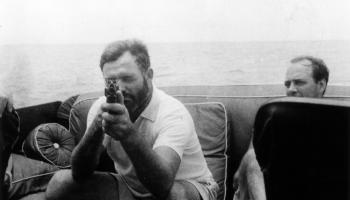 Ernest Hemingway; Writer, Rogue...U-boat Hunter?