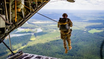 The Unpleasant Experience of Meeting the Airborne Test Platoon