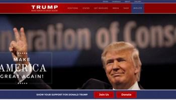Donald Trump Starts his Political Machine