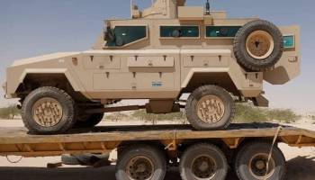 US Provides Armored Personnel Carriers for the Fight Against Terrorism