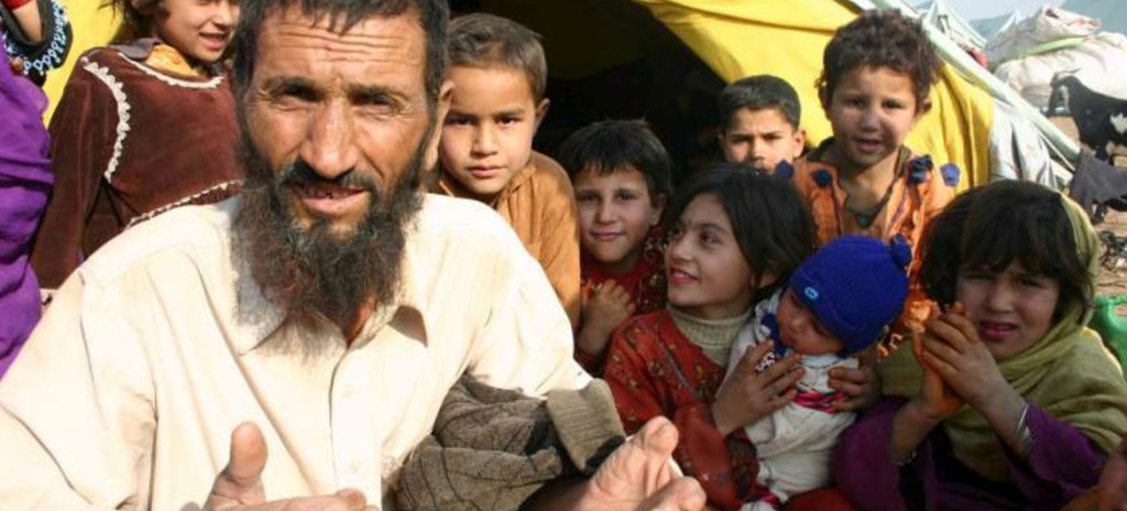Afghan refugees in Pakistan. They are expected to flood Europe after the U.S.-led coalition leaves the country.