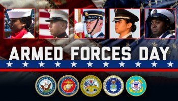 Today We Celebrate and Honor Our Armed Forces!