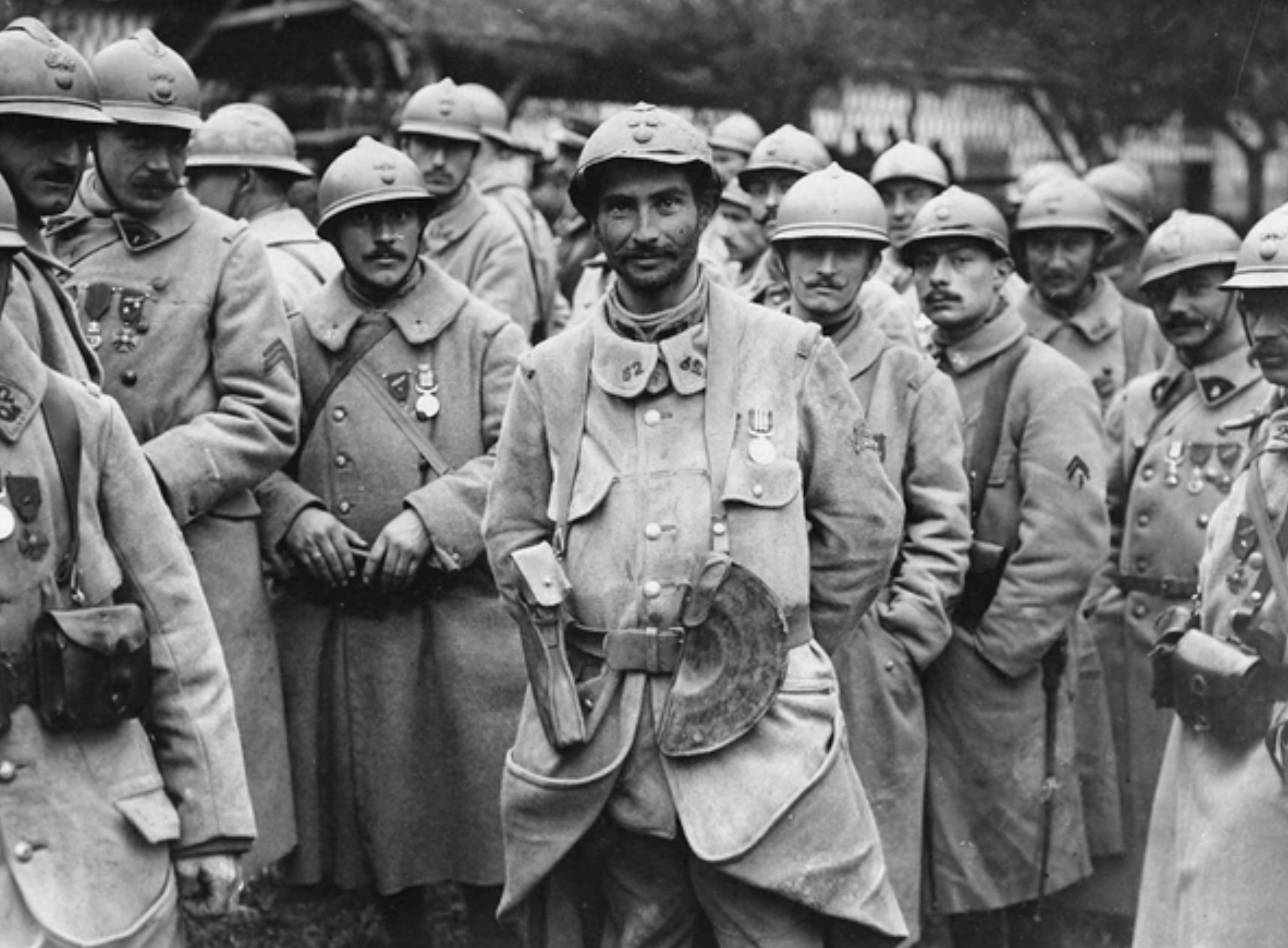 French soldiers in WWI.