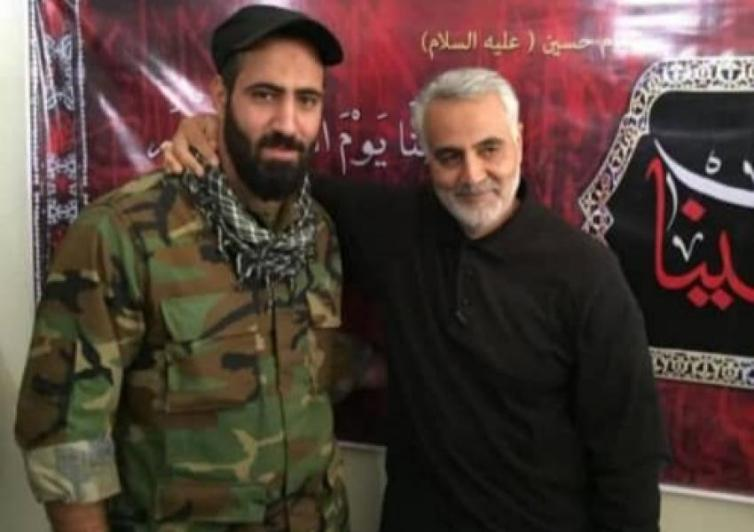 Abdollah Zadeh a Quds Force officer was killed in an ISIS ambush.
