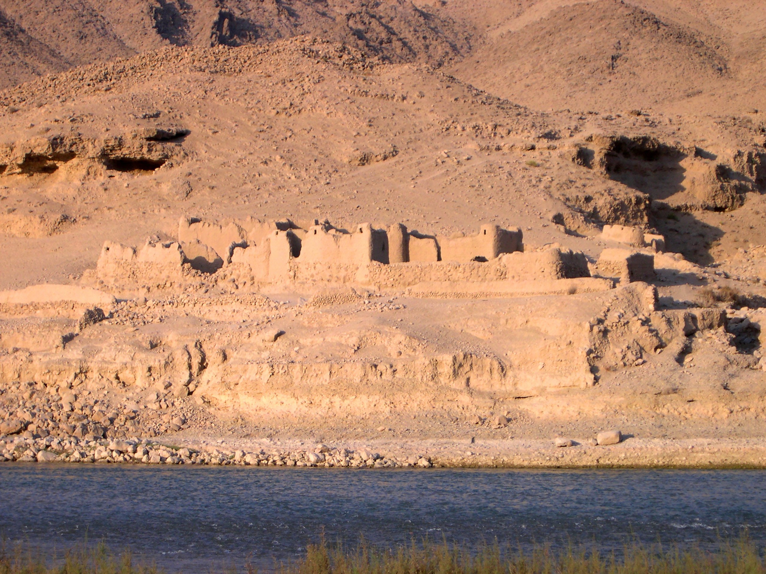 During our time in Afghanistan we beheld ancient ruins.