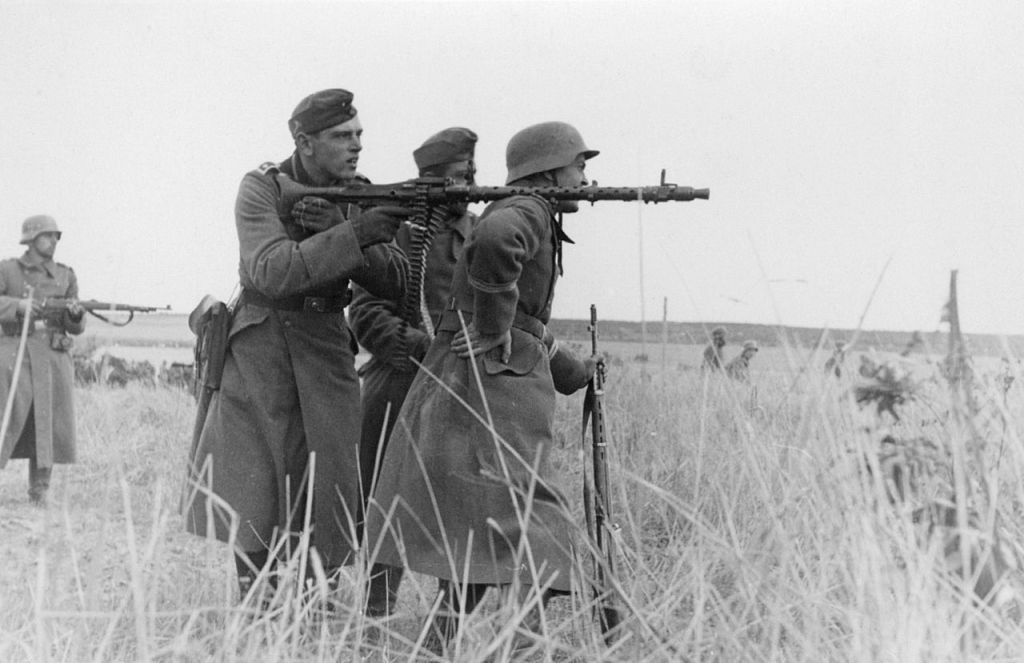 MG34 MG42 World War Two