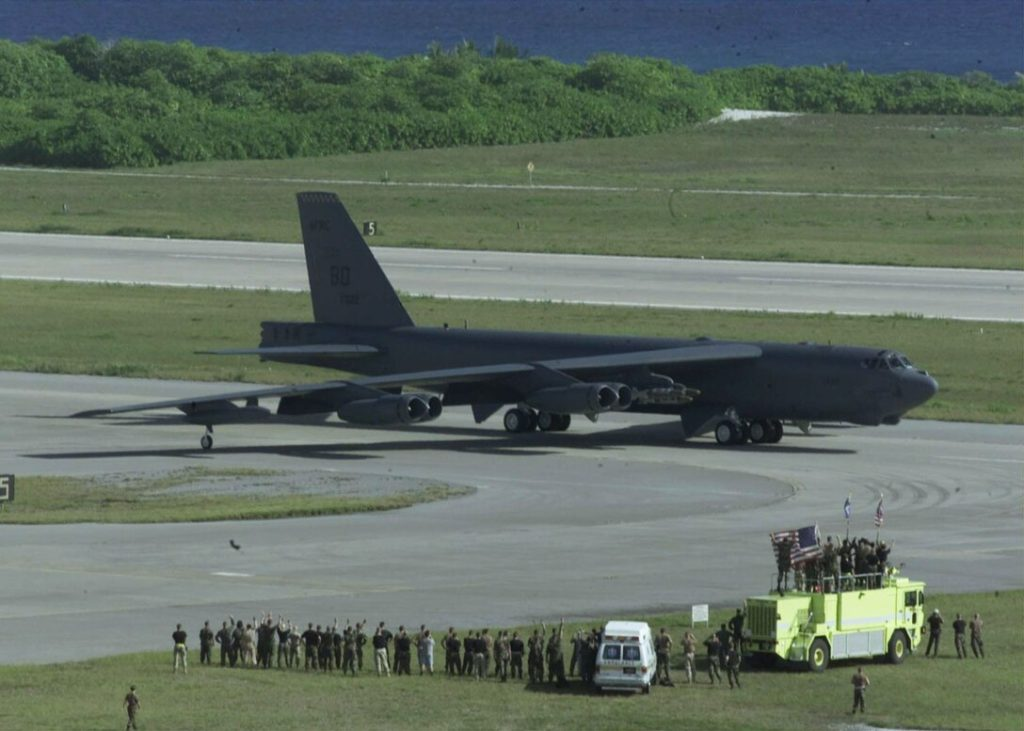B-52H Stratofortres Operation Enduring Freedom