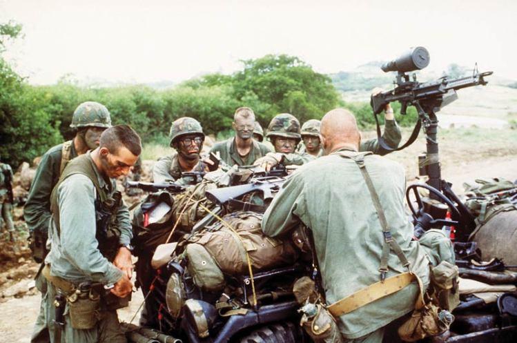 Rangers during Operation Urgent Fury