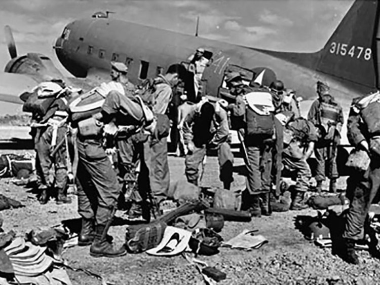 Paratroopers 511th Parachute Infantry Regiment World War II