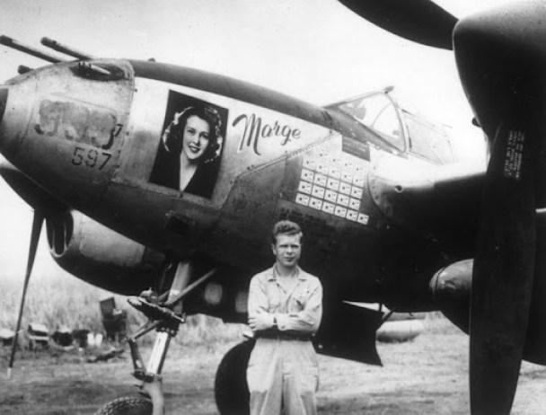 Richard Bond P-38 Marge portrait