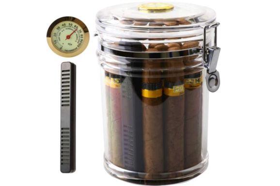 XIFEI Acrylic Humidor Jar