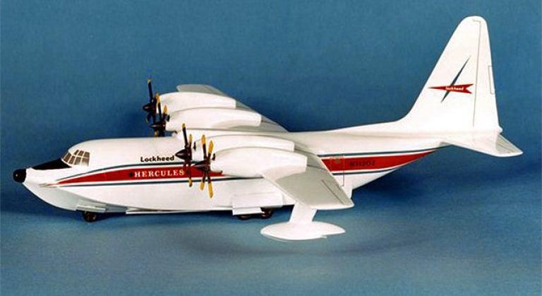 C-130 Seaplane model