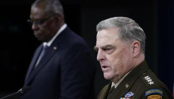 General Milley Says US-Taliban Cooperation Against ISIS Is Possible