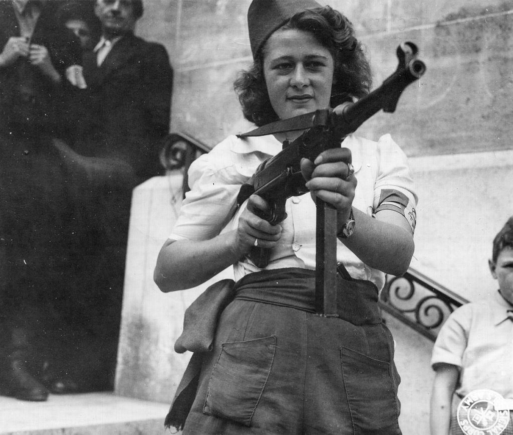 French resistance SMG World War II Weapons