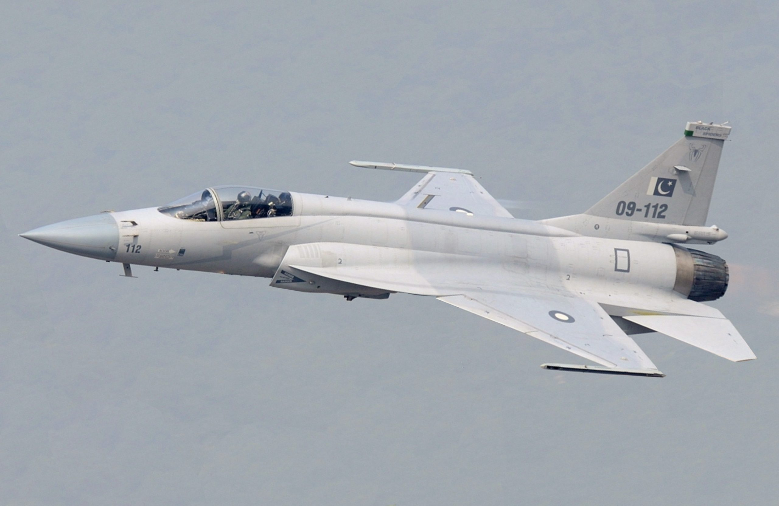 Pakistani JF-17 fighter jet