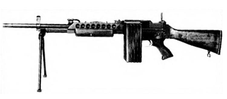 Stoner 63 light machine gun