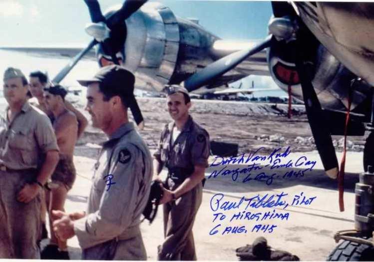Paul Tibbets Hiroshima crew