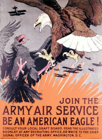 WWI Army Air Service Recruitment Poster