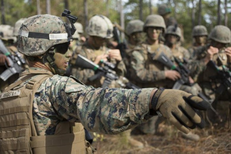 Infantry Integrated Field Training Exercise Marines