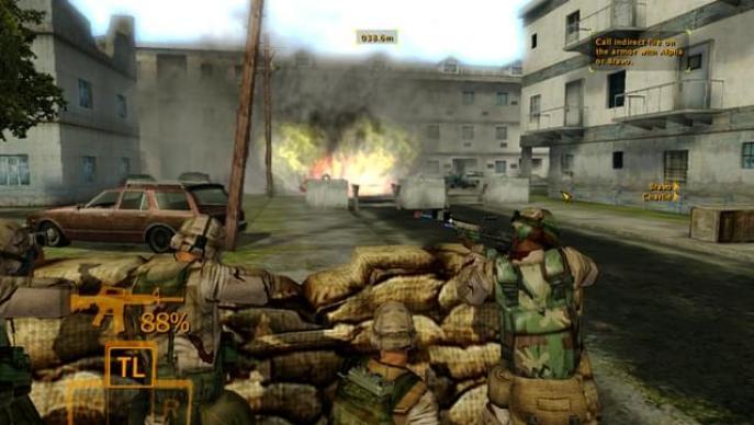 Full Spectrum Warrior video game