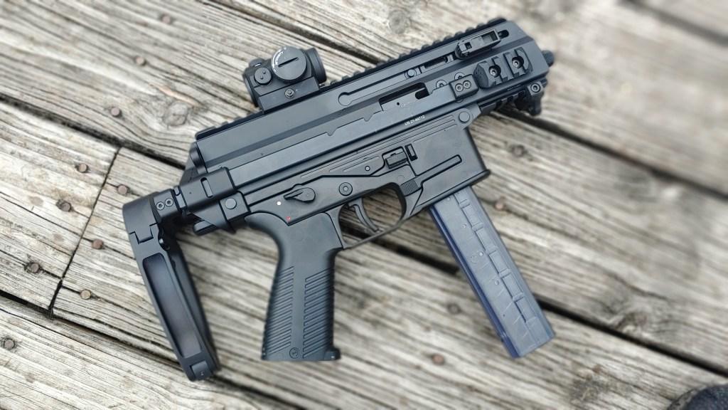 APC9K submachine gun submag