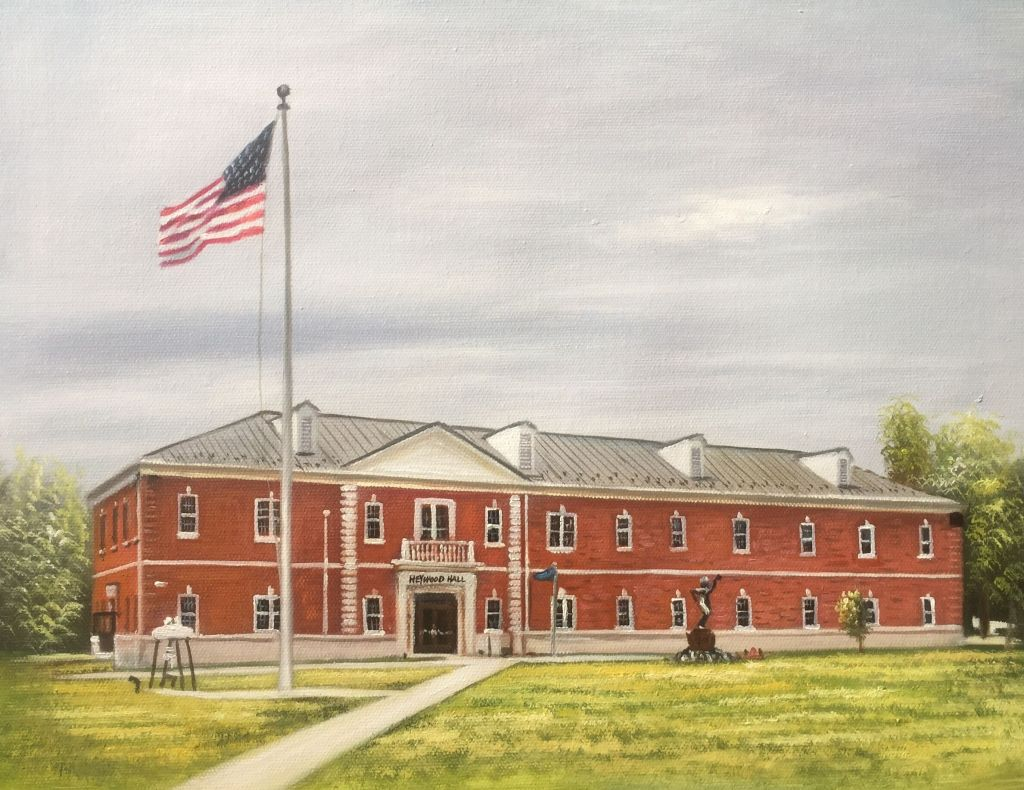 Heywood Hall, USMC Base Quantico