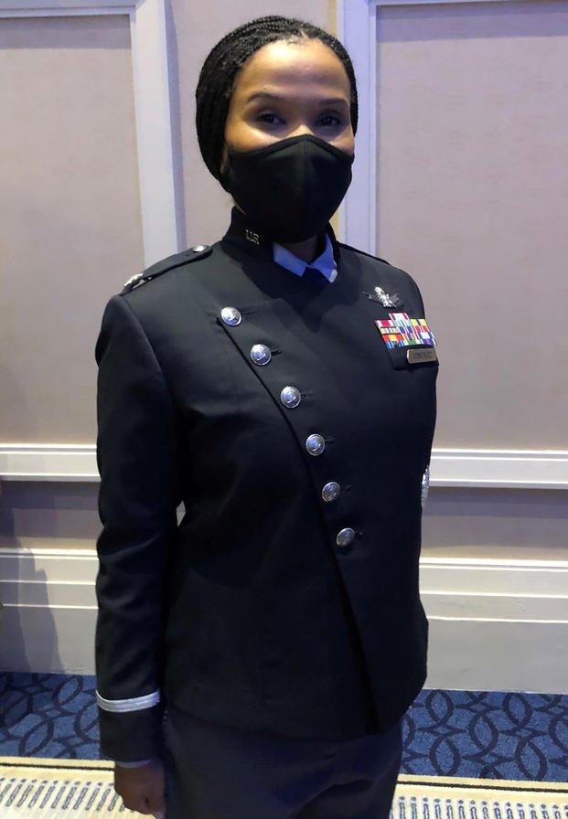 Space Force dress uniform guardian